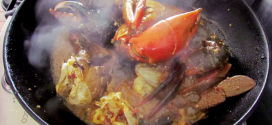Thai chilli mud crab
