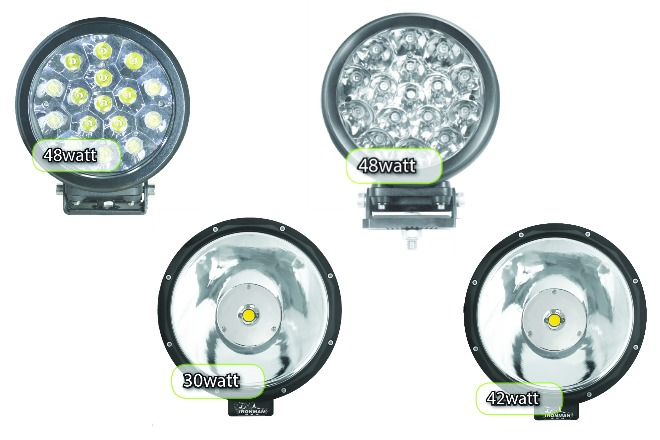 New Range of Ironman 4×4 LED Driving Lights