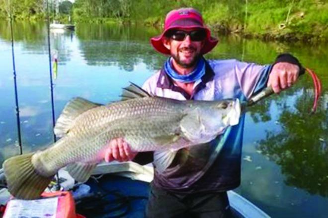 Fishing conditions good for monduran dam bush 39 n beach for Ute lake fishing report