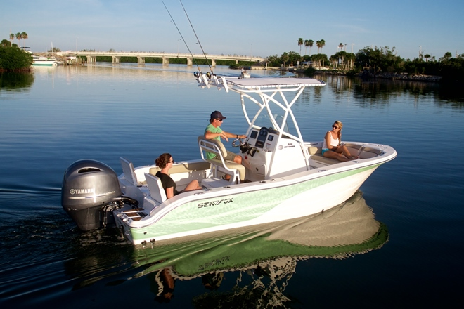 Performance and personal watersports boats in top gear for for Personal fishing boat