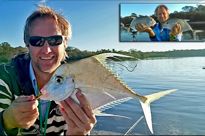 Fresh Water in Noosa System Sends Trevally to the Mouth
