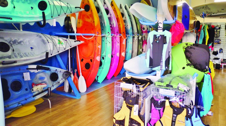 Come and check out the huge variety of paddling gear in stock.
