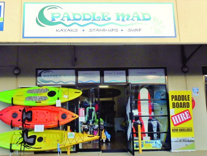 Paddle Mad is centrally located on the corner of Wellington St and Shore St West, Cleveland.