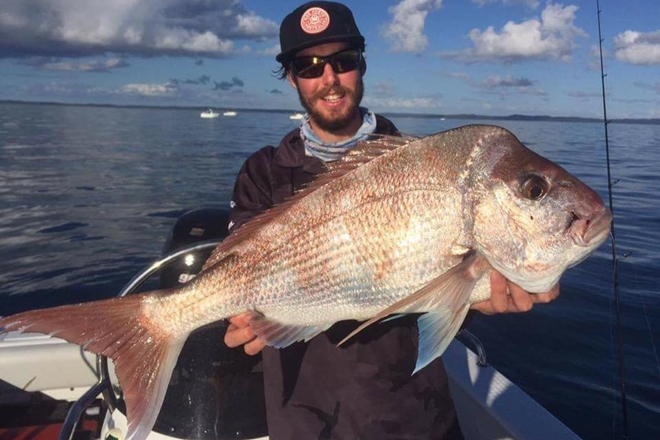 Snapper and more chewing around Bundaberg