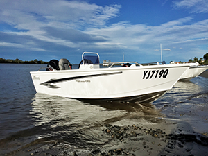 Sharp drive-away pricing from Karee Marine makes the Fisherman 449 a tempting proposition.