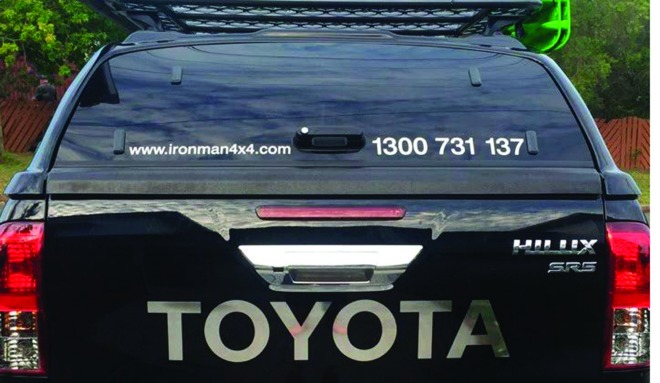 ... Ironman releases new canopy for Toyota HiLux ... & Ironman releases new canopy for Toyota HiLux - Bush u0027n Beach Fishing
