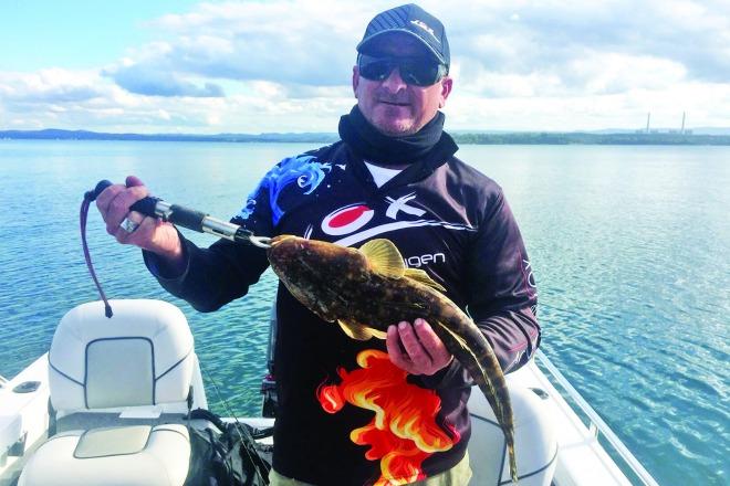 Fishing at lake macquarie