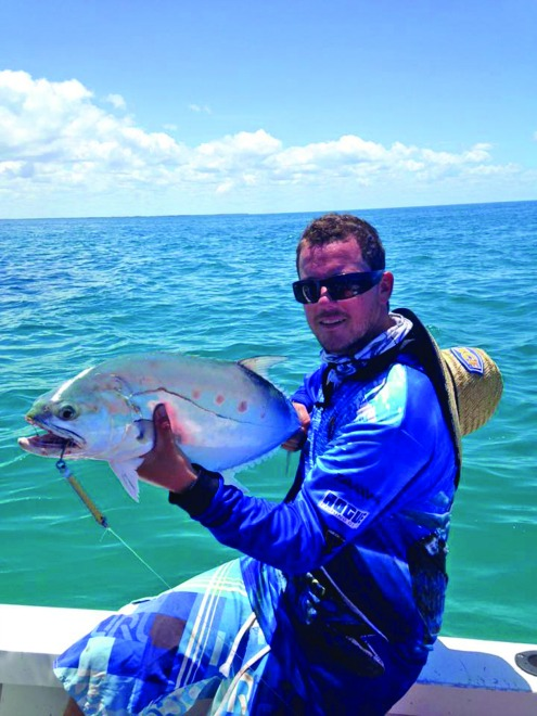 The author's metal lures have now caught dozens of queenfish.