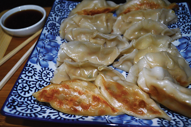 Prawn gyoza recipe
