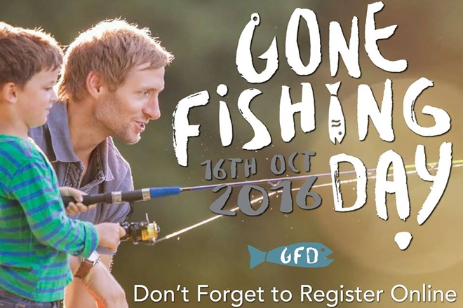 October 16 is National Gone Fishing Day – make your rod count!