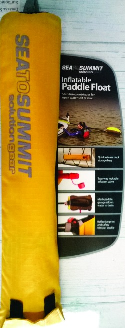 Paddle float.