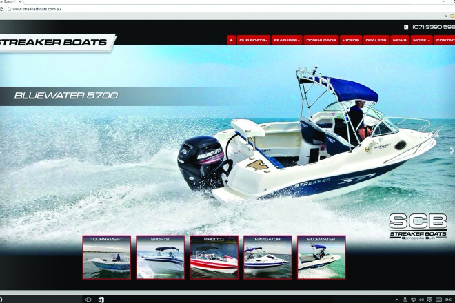 Streaker boats launches new website