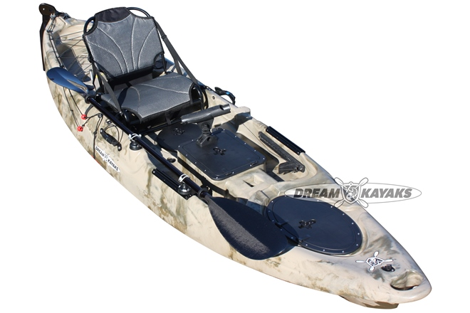 Dream Kayaks 'The Beast' fishing yak