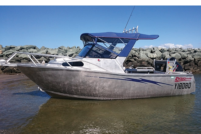 Rebel Boats 5.5m Bay Runner series