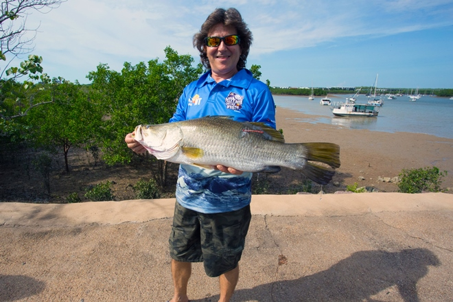 Twice-lucky Darwin man reels in another $10,000 prize barra
