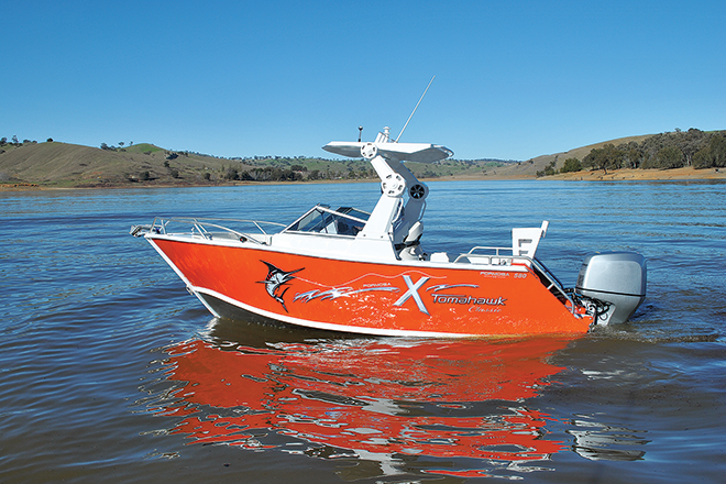 The Formosa Tomahawk X Bowrider is a unique crossover vessel.