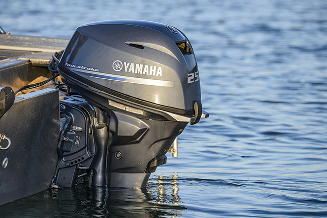 new yamaha f25 efi