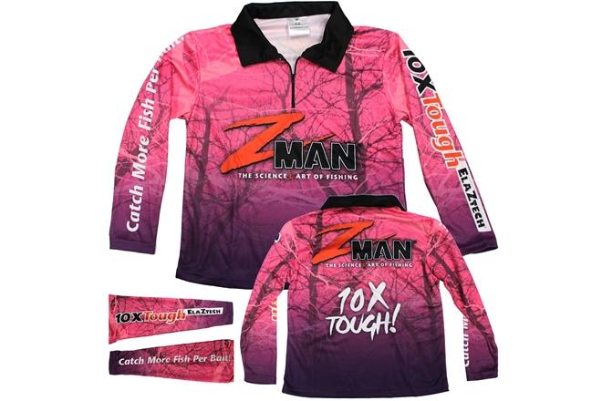 z-man ladies fishing shirt