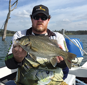 Monster bass and yellowbelly at Moogerah 2