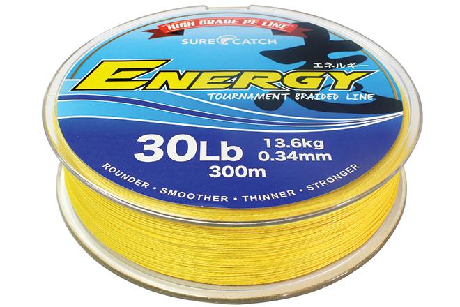 surecatch energy braid