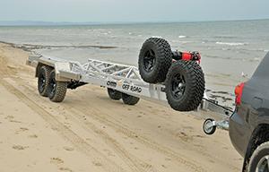 heavy duty boat trailer