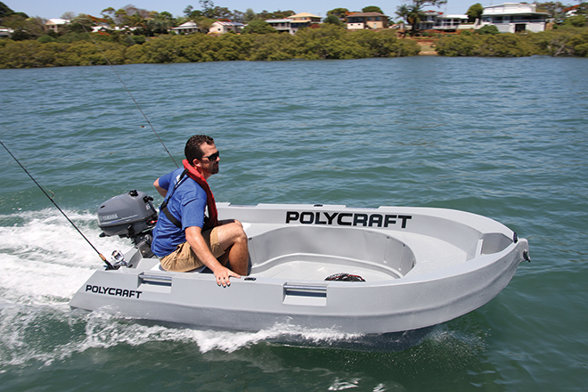 Polycraft Tuff Tender And Yamaha 6hp 4 Stroke Review