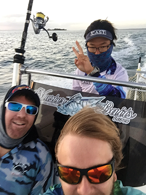 Hervey Bay fishing with Fraser Guided Fishing 4