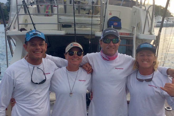 raymarine freedom crew