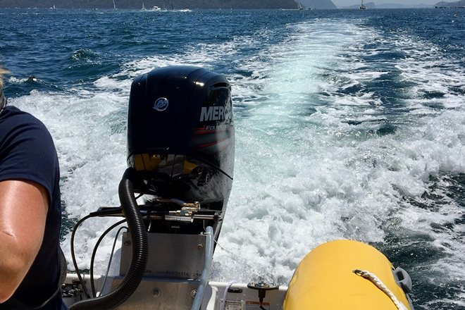 Mercury jet drives providing superior safety for Royal Prince Alfred Yacht Club