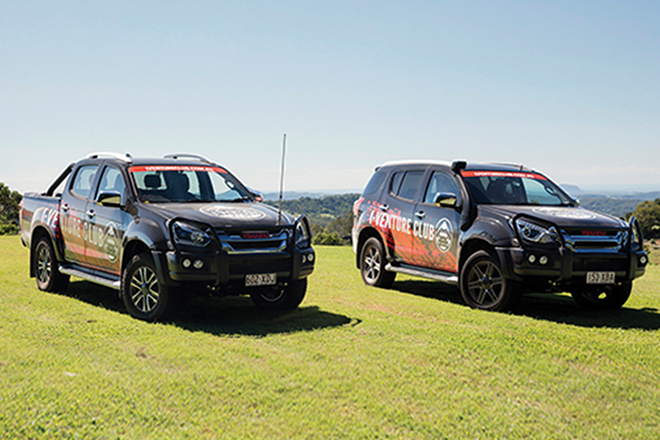 Isuzu UTE pumps up its I-VENTURE Club program