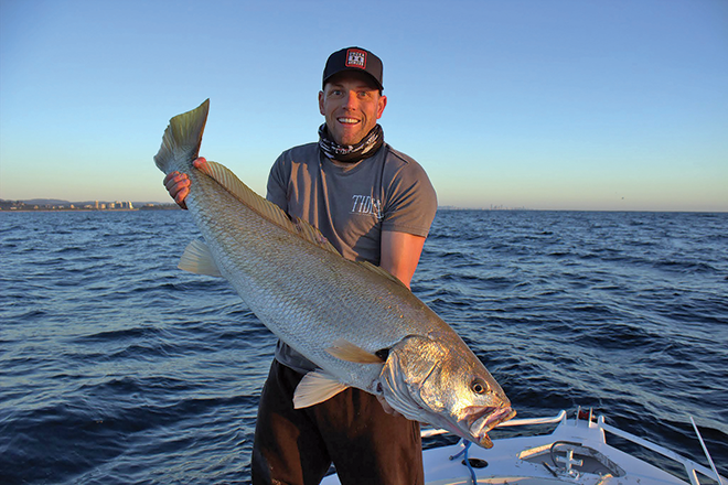Fishing the Gold Coast for elusive jewfish