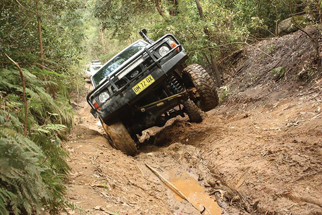 Charity 4WD event at Yalwal