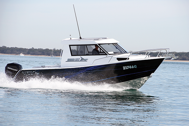 Aliweld Marine 8000 HT boat review