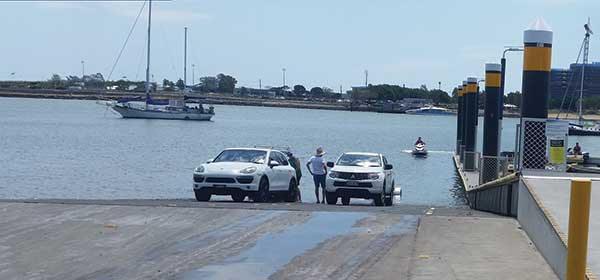 Moreton Bay boat ramps