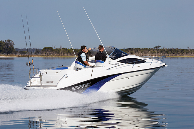 whittley marine cr2380
