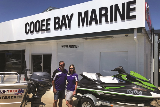 Cooee Bay Marine joins the Yamaha family