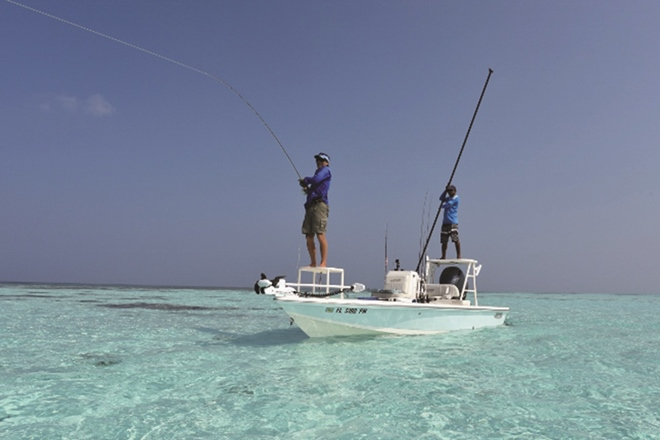 fly fishing virgin flats maldives como