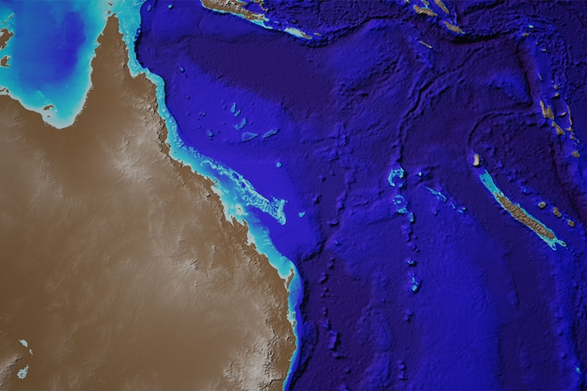 Australia's underwater natural wonder in never-before-seen detail