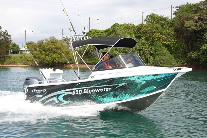Stessl 520 Bluewater boat review