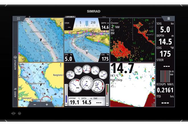 Simrad NSO Evo3 navigation system