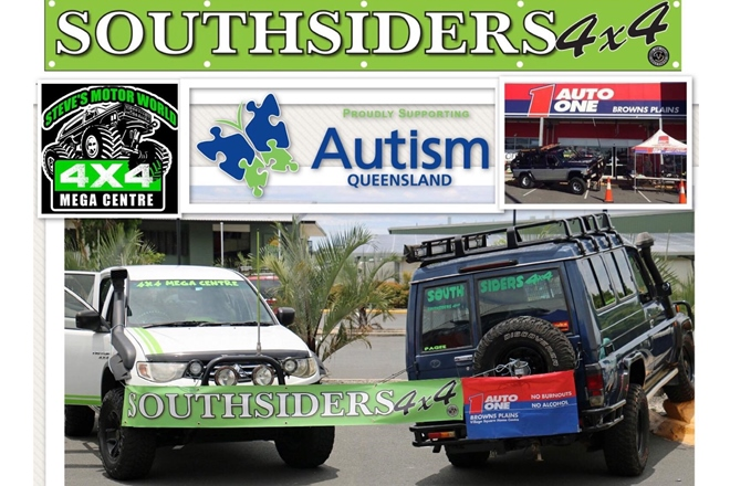 Southsiders 4×4 convoy to raise funds and awareness for Autism Queensland