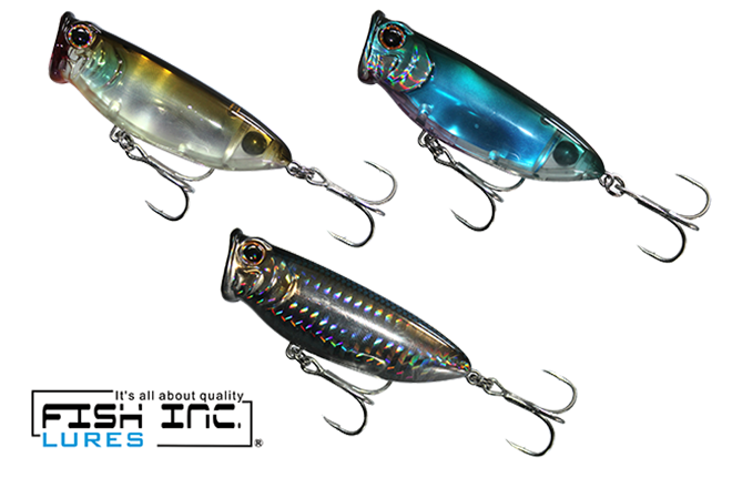 fish inc. fly half popper