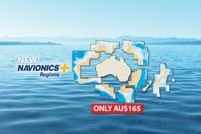 New Navionics+ Regions available for Australia and New Zealand