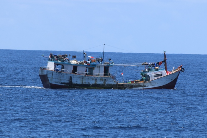 foreign fishing vessel apprehended