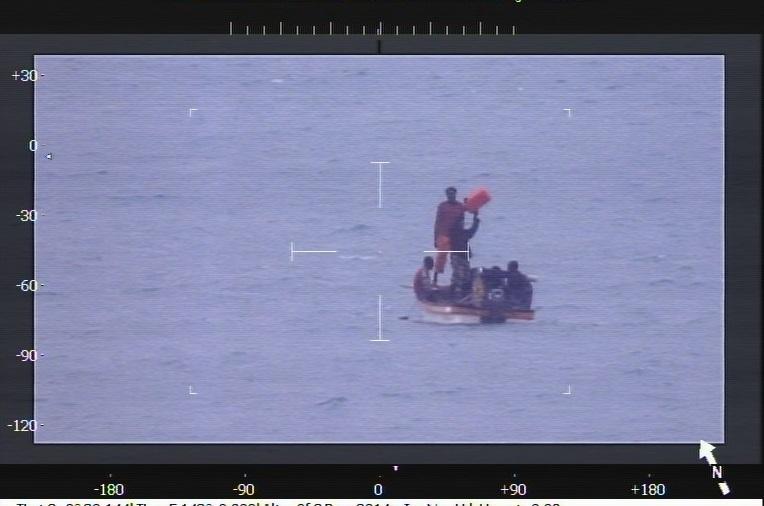 nine fishers adrift for six days