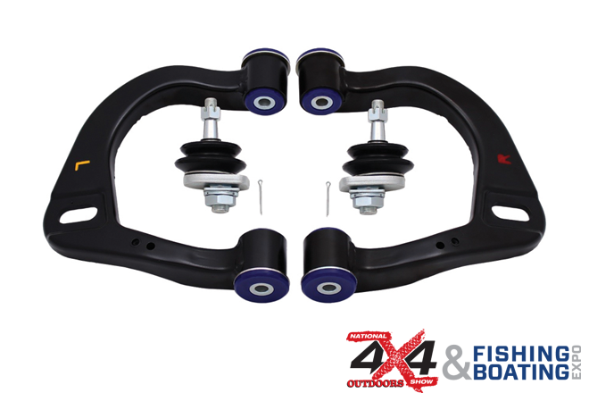 4×4 Show – SuperPro 4×4 control arms – a fully adjustable 4WDing solution