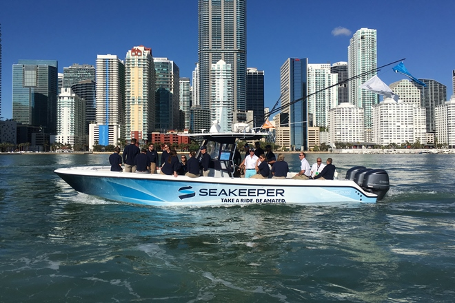 Seakeeper 2 delivers stability for sub-30′ boats