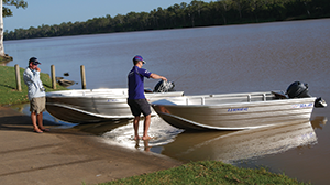 portable yamaha four-stroke sea jay
