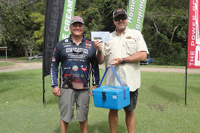 Fabian Rodriguez wins with Steve Kanowski at Basstasstic teams qualifier