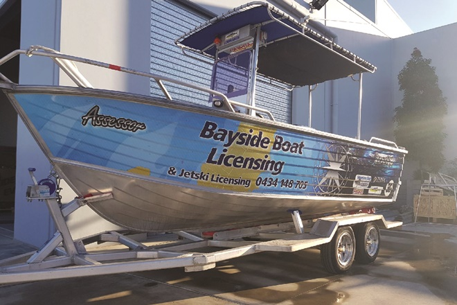 bayside boat licensing refit